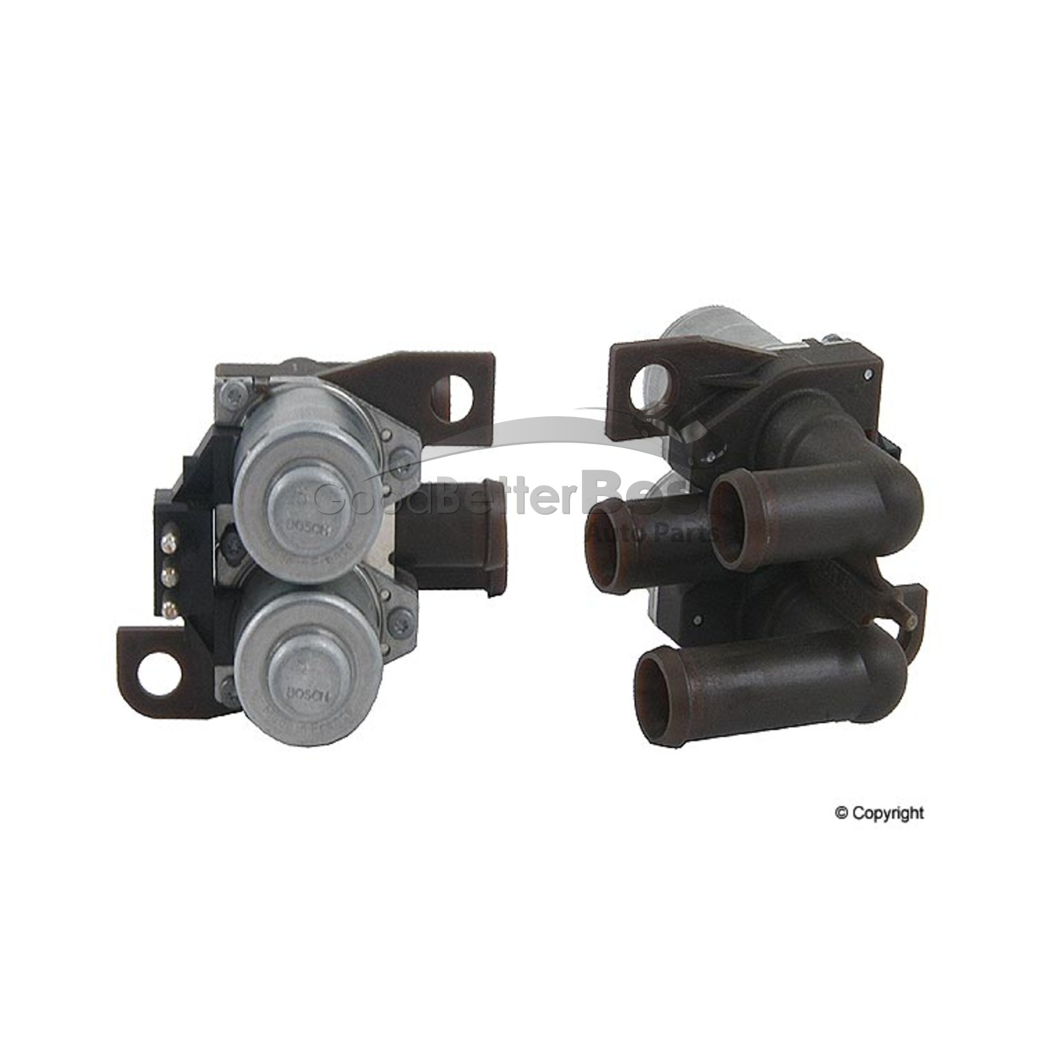 One New Genuine HVAC Heater Control Valve 2118320684 for Mercedes MB