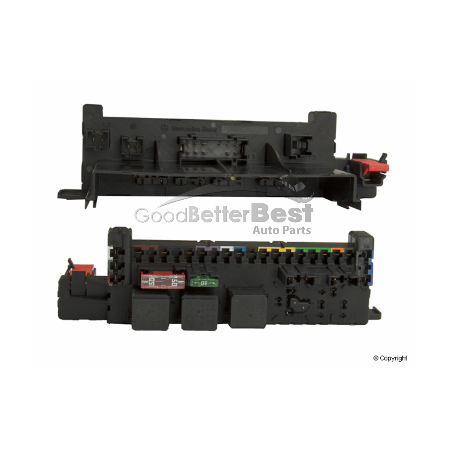 New Oe Supplier Fuse Box Rear 0025452201 Mercedes Mb Ebay Knowing Home