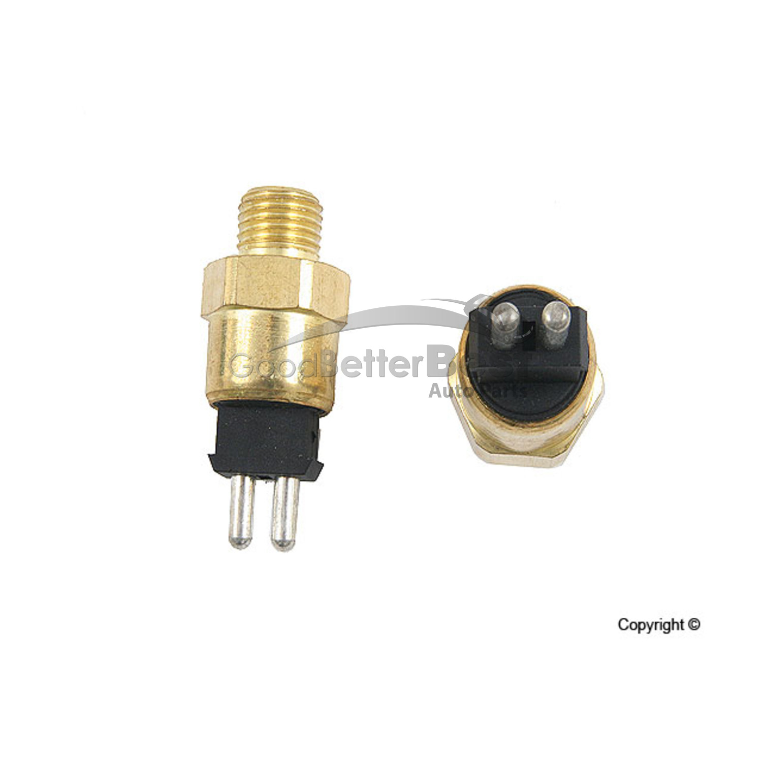 One New URO Engine Coolant Temperature Sensor 0065451524 for Mercedes MB