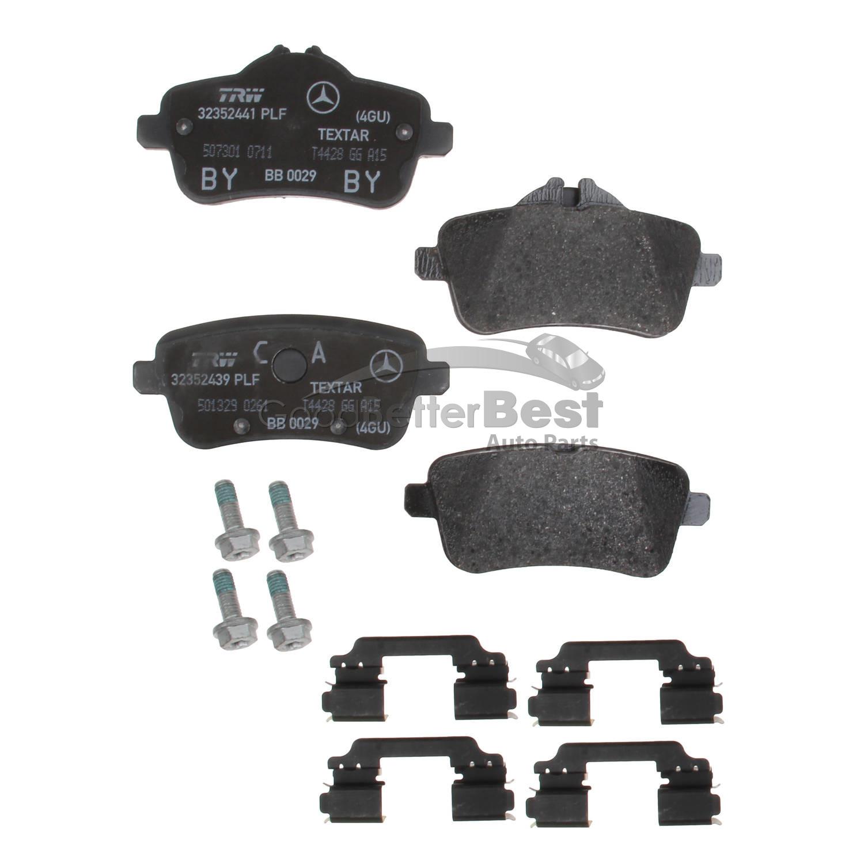 Mercedes Benz CLA45 AMG SLK55 AMG 2012-2014 Rear Brake Pad Set 0074209020