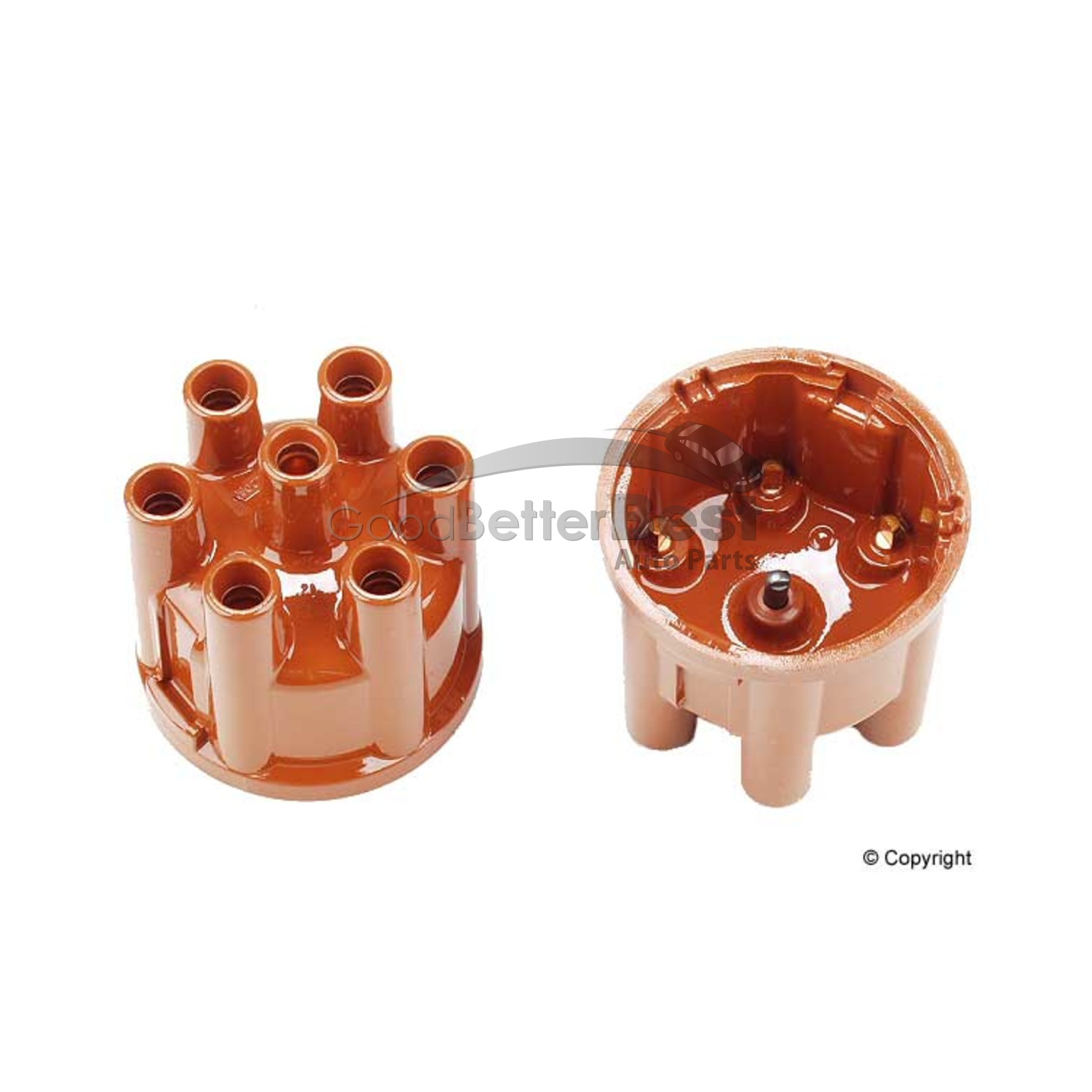 One New Bosch Distributor Rotor 04018 243922 for Mercedes for Porsche for Volvo