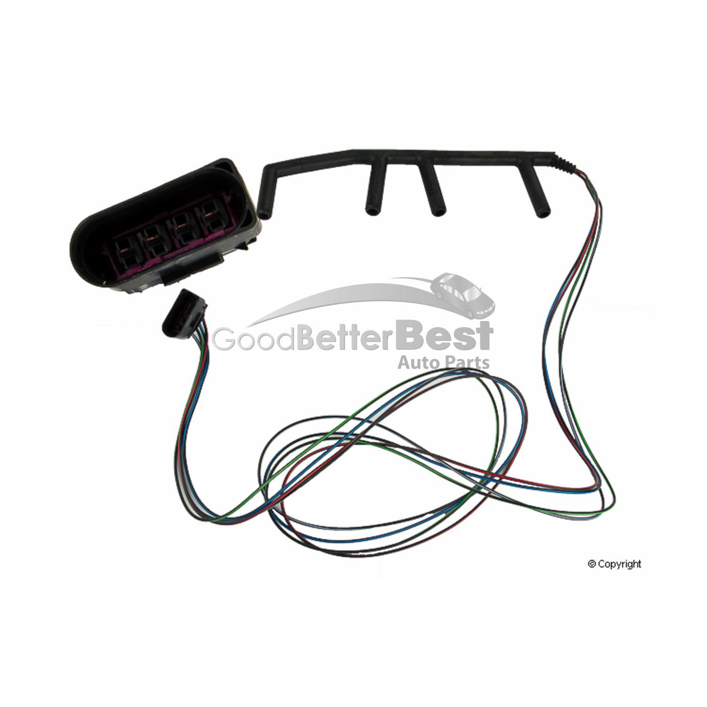 One New Genuine Diesel Glow Plug Wiring Harness 038971220c For Volkswagen Vw