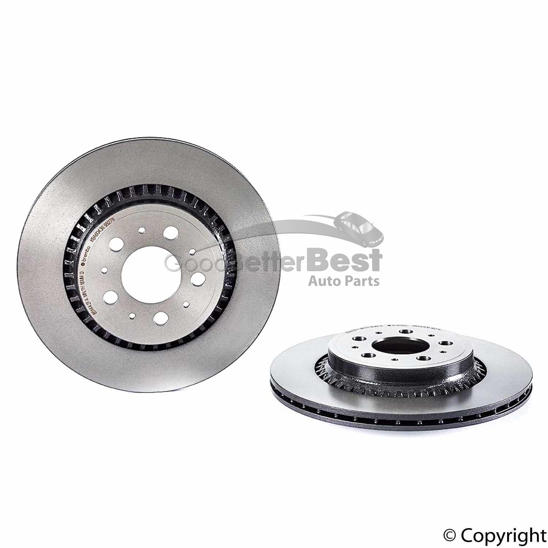 Rear Brake Rotors /& Ceramic Pads for 2003 2004 2005 2006 2007-2014 VOLVO XC90