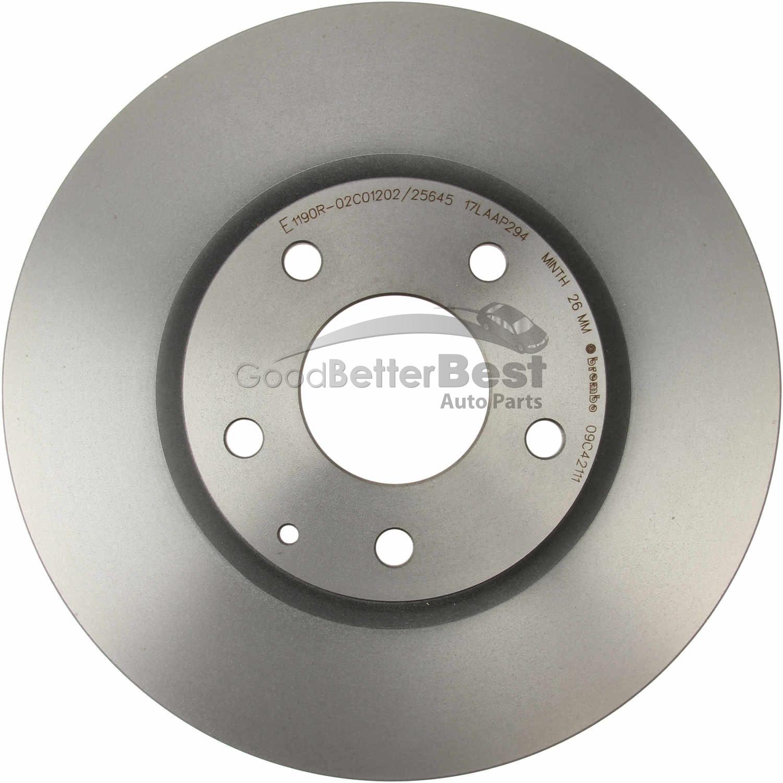 Fit 13-15 Mazda CX-5 Rear OESpec Brake Rotors Ceramic Pads