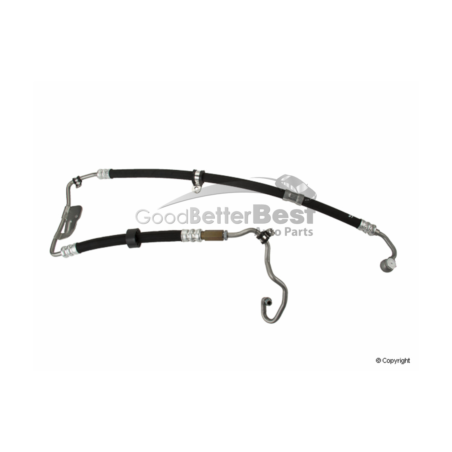 Power Steering Return Hose Genuine For Mercedes 2514600224