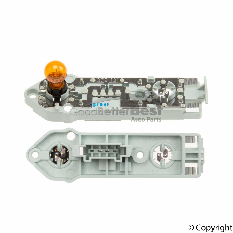 One New Genuine Tail Light Bulb Carrier Left 2038200777 for Mercedes MB