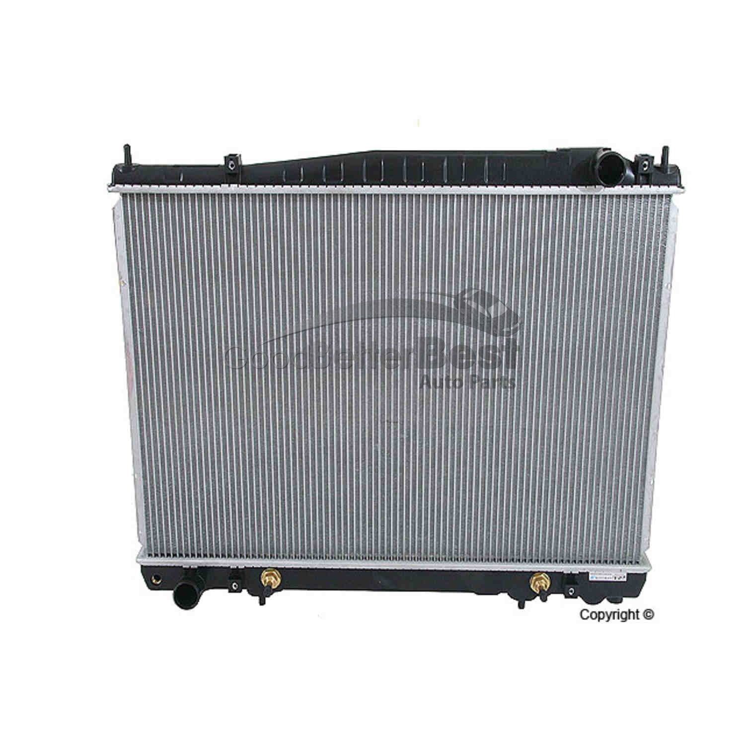 Radiator For 02-06 Infinit M45 Q45 4.5L V8 Fast Free Shipping Direct Fit