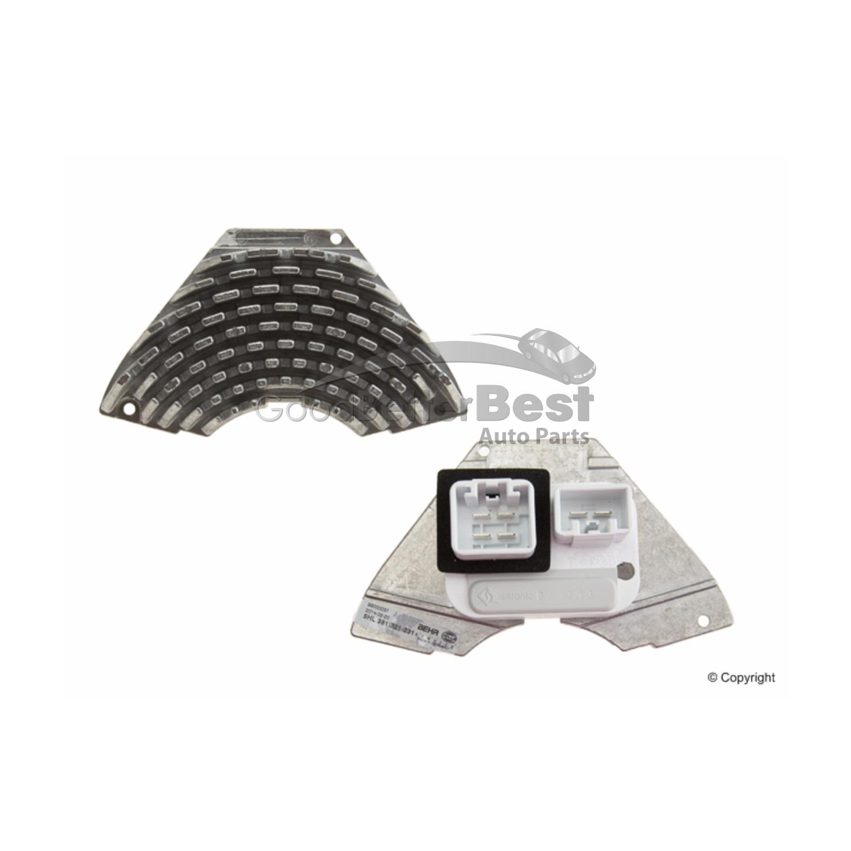 New Behr Hella Service HVAC Blower Motor Resistor 8693262 35132123 Volvo