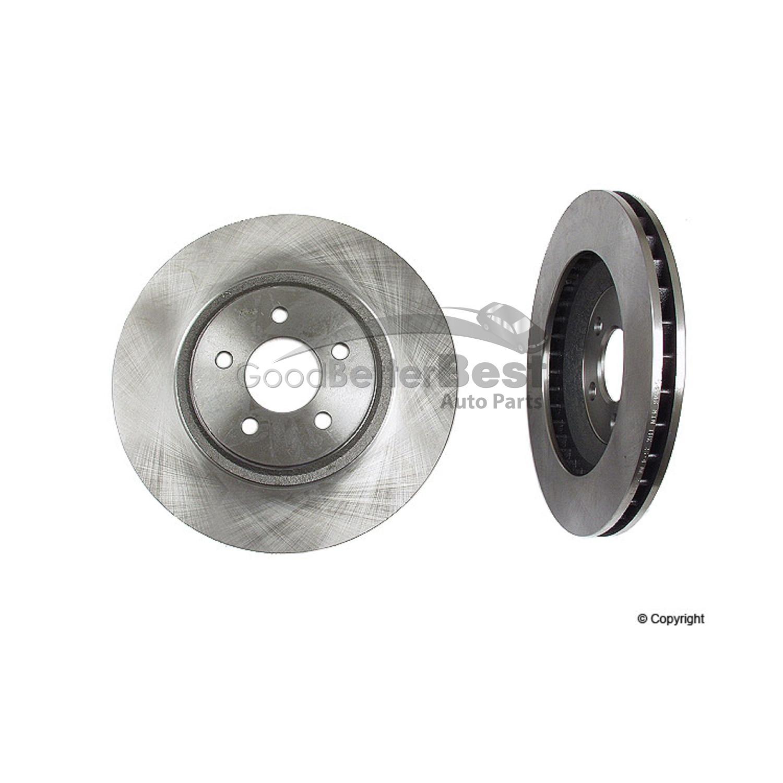 OPparts 40518035 Disc Brake Rotor