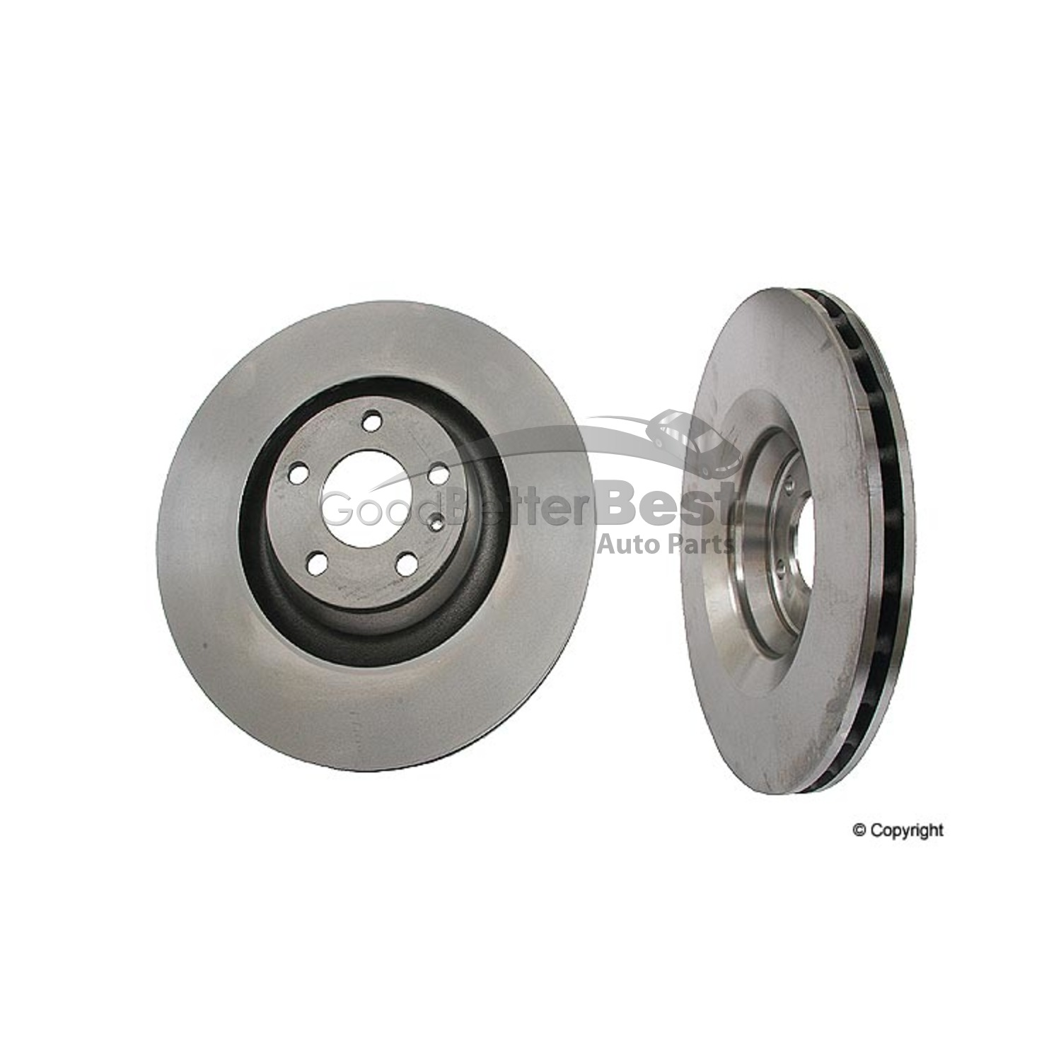 Front Quality 312 mm OE Replacement Quality Brake Disc Rotors For A4 A6