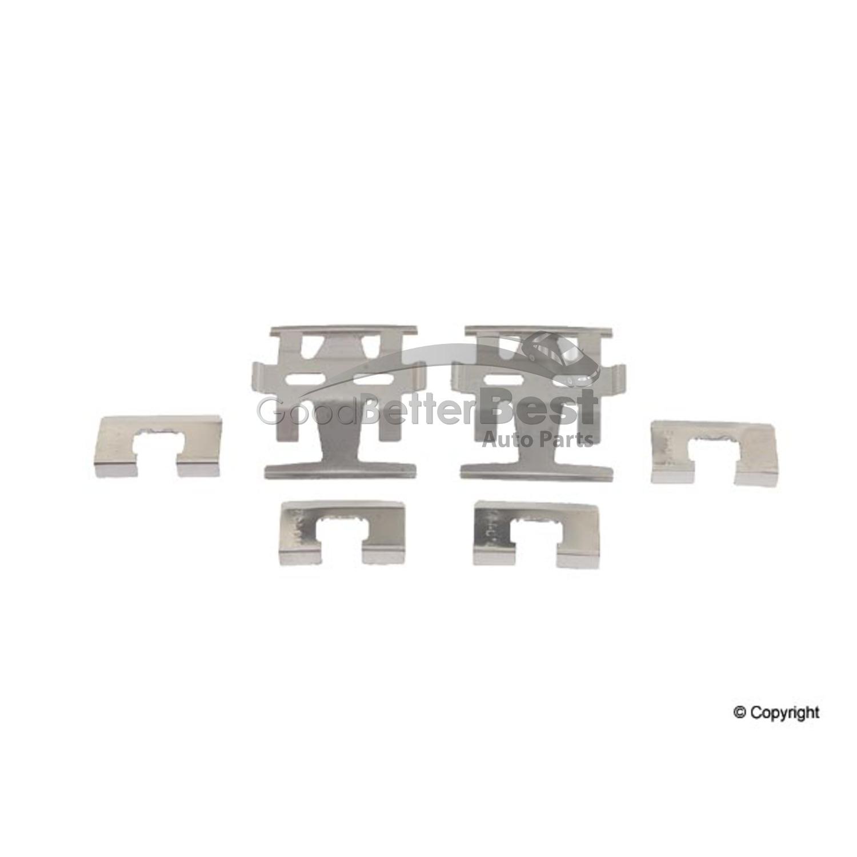 New OPparts Disc Brake Hardware Kit Rear 13367 for Nissan Altima Maxima