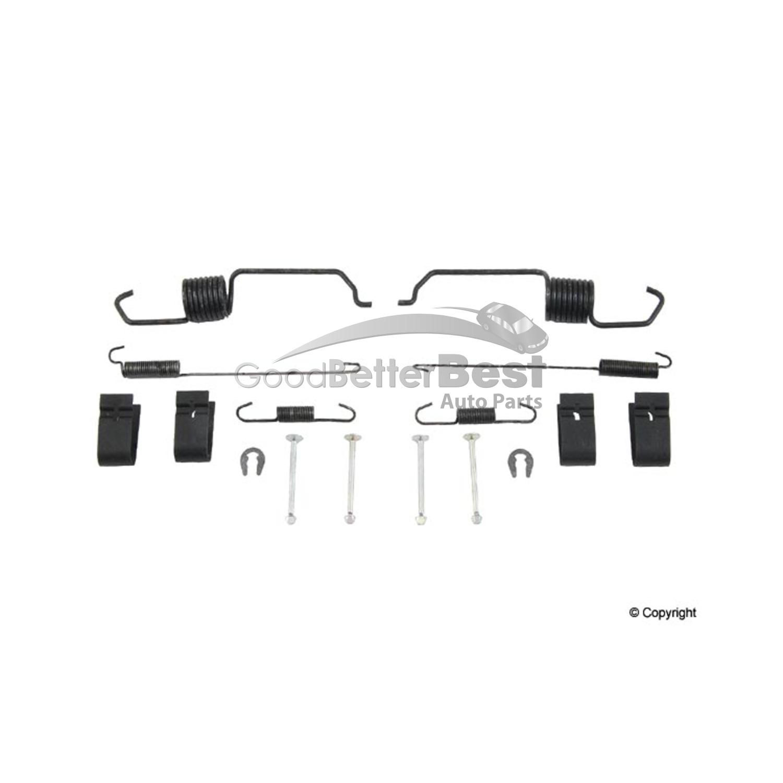 new opparts drum brake hardware kit rear 7407 for mazda tribute