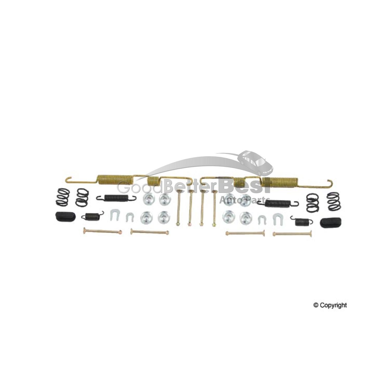 new opparts drum brake hardware kit rear 17253 for toyota