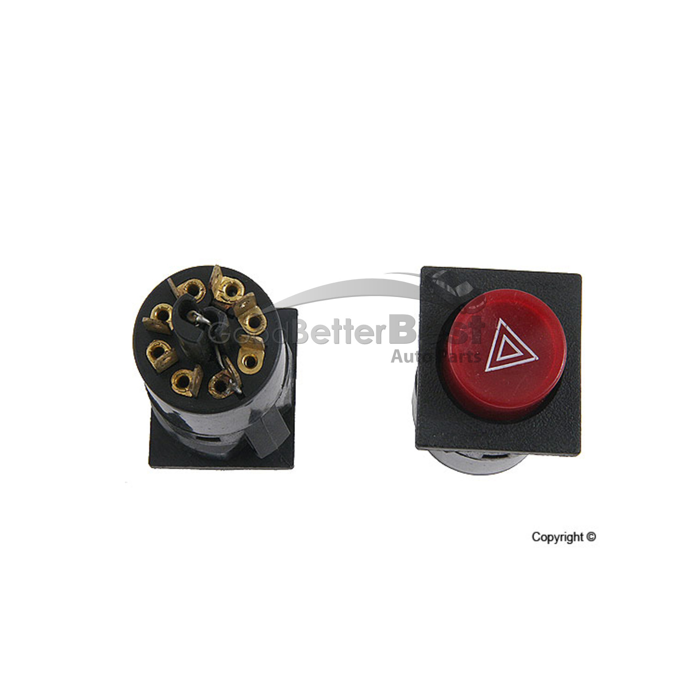 Hazard Flasher Switch MTC 61311364525 for BMW E21 733i 320i 1978-1983