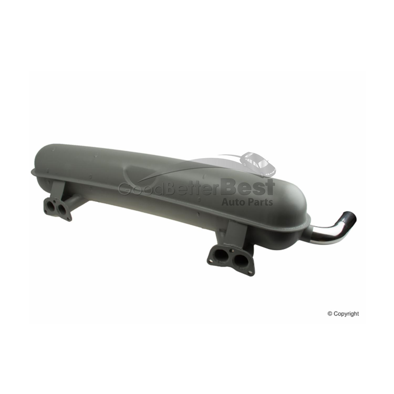 For Porsche 914 70-74 Exhaust Muffler w// Tail Pipe Dansk 021 251 053 C