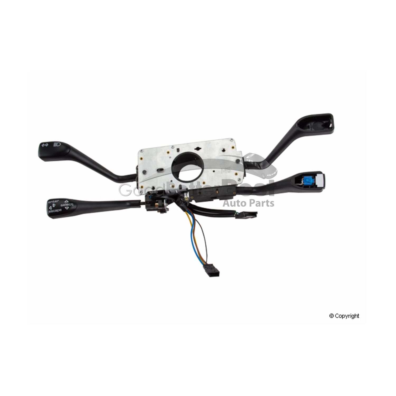 Porsche 996 Switchable Exhaust: New Genuine Combination Switch 99661321910EWC 99661321910