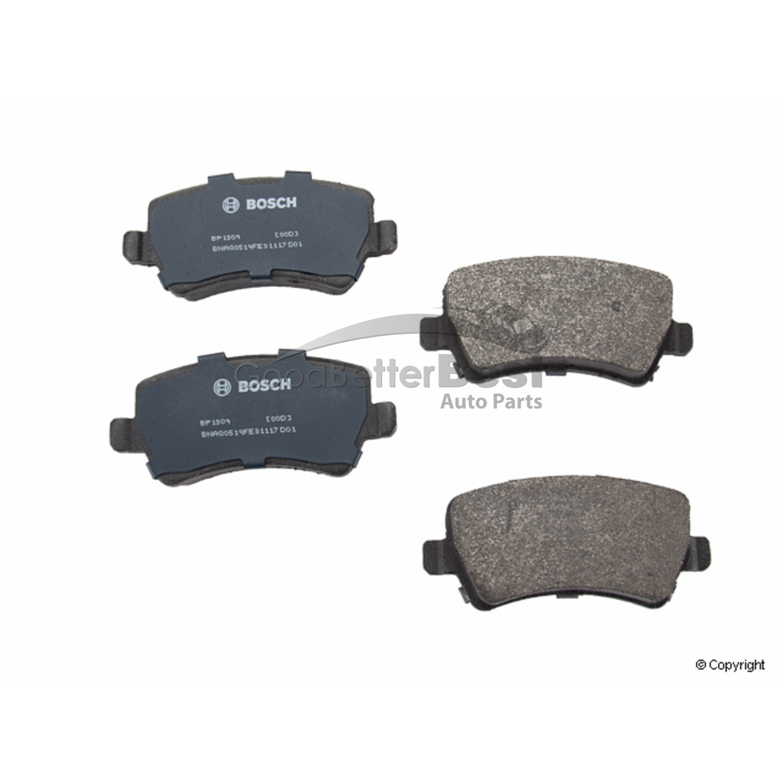BOSCH FRONT Pads Disc Brakes Brake Pad Set for Land Rover LR2 Range Rover Evoque