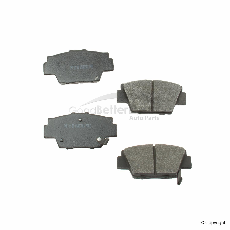 Dodge Ram 1500 Front Disc Brake Pad Set Meyle Semi Metallic 7959D1054PMQ For