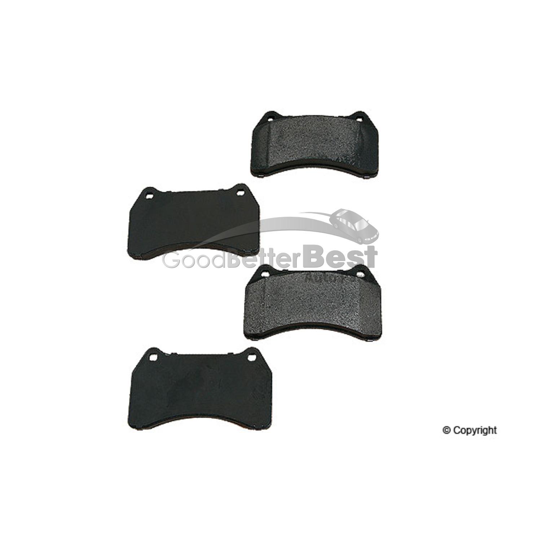 For Audi VW Passat Front Brake Pad Set OPparts Semi Met D 8555B OSM