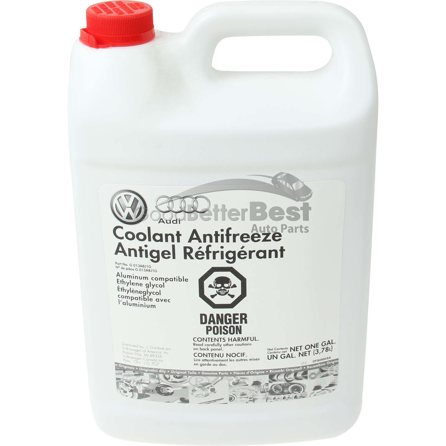 Coolant Antifreeze For 1998-2010 2012-2016 VW Beetle 2000 1999 2001 2002 B139ST