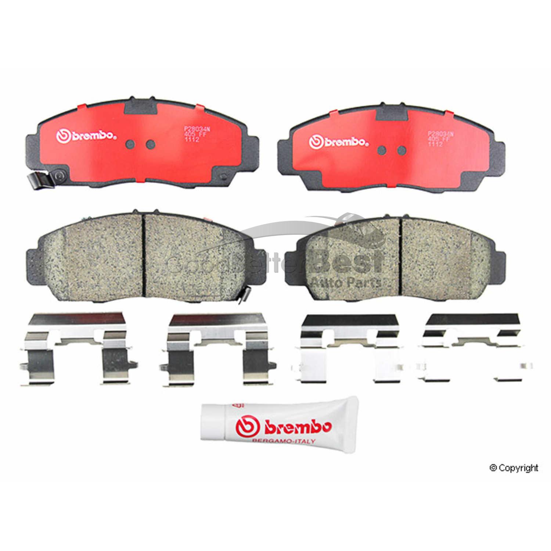 New Brembo Disc Brake Pad Set Front P28034N Acura Honda CL RL TL TSX Accord
